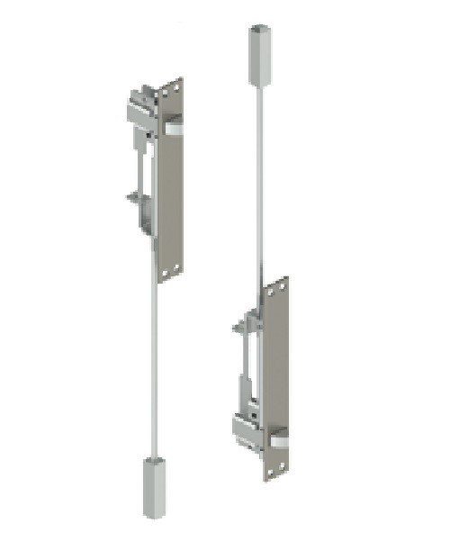 Hager Automatic Flush Bolt 292D - Metal Door  sc 1 st  DCI Specialty Finish Trims - Including Push Plates Floor Stops ... & DCI Specialty Finish Trims - Including Push Plates Floor Stops ...