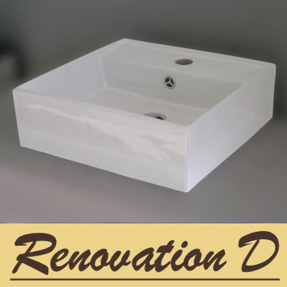 Square Bench Top Basin 274A