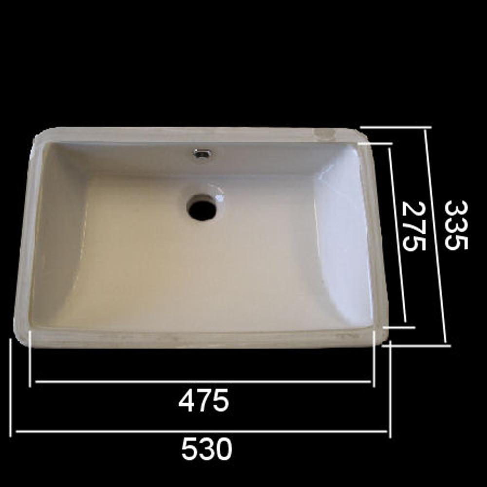 Undermount Basin 540E