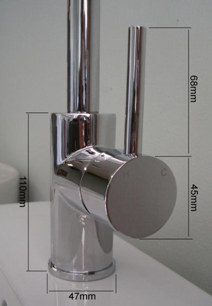 Lollypop Large Gooseneck Basin, Kitchen & Laundry Sink Mixer Tap