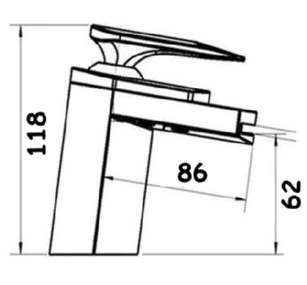 Royal COMO Chrome Basin Mixer Tap