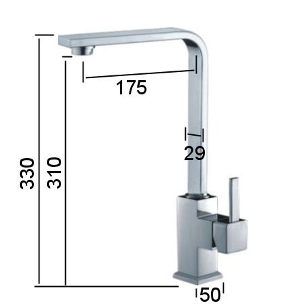 Normandy Coco Tall Sink or Basin Mixer Tap