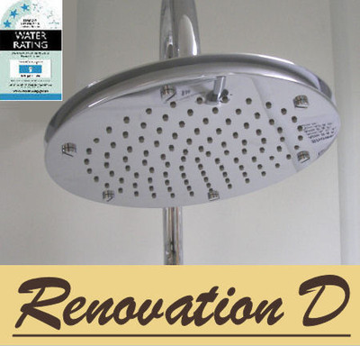 Large Round Dual Layer Shower Head