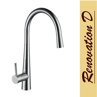Lollypop TEMP322 Pull Out Kitchen Mixer Tap