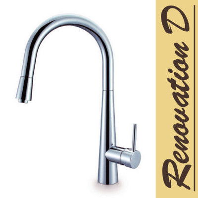 NERO Bling Pull Out Kitchen Mixer Tap