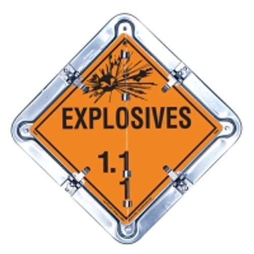 Explosive Flip Placard