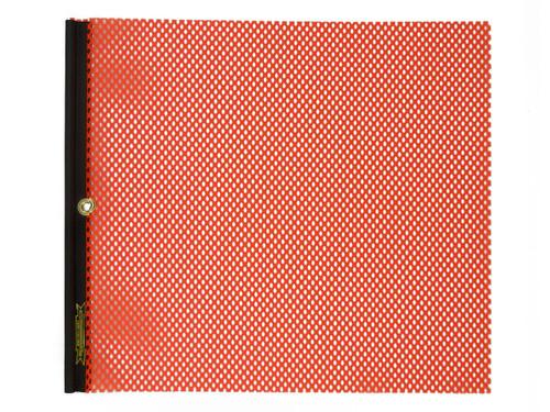 Oversize Warning Products m-80-warning-flag-orange with Grommet