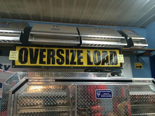 Oversize Load sign - Mesh
