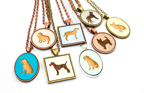 Custom Dog Pendant - Choose Your Breed