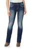 Luscious Curvy Bling Bootcut Jeans In Cecille
