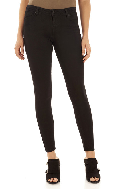 Ultra Luxe Skinny Jeans In Black