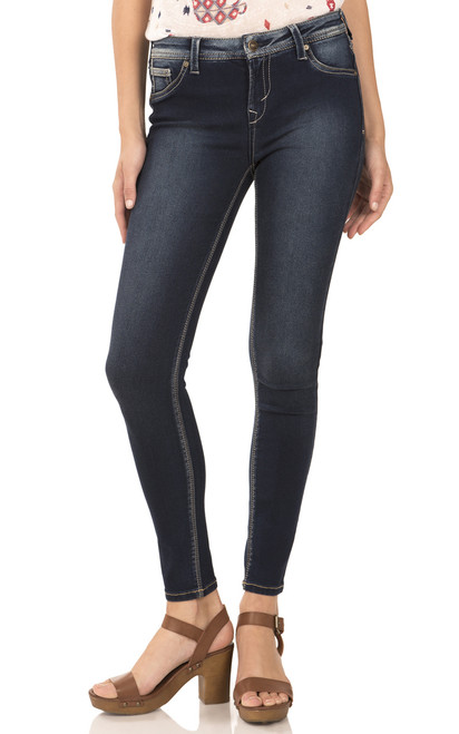 Sassy High Rise Skinny Jeggings In Emory