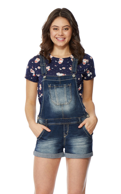Denim Shortalls In Britney