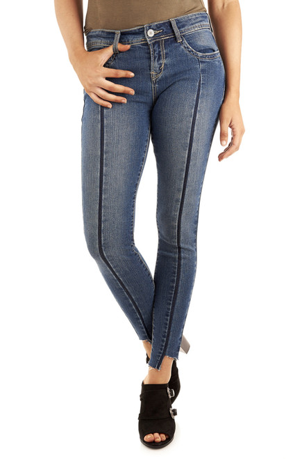 Legendary Forward Seam Ankle Skinny Jeans In Felicia