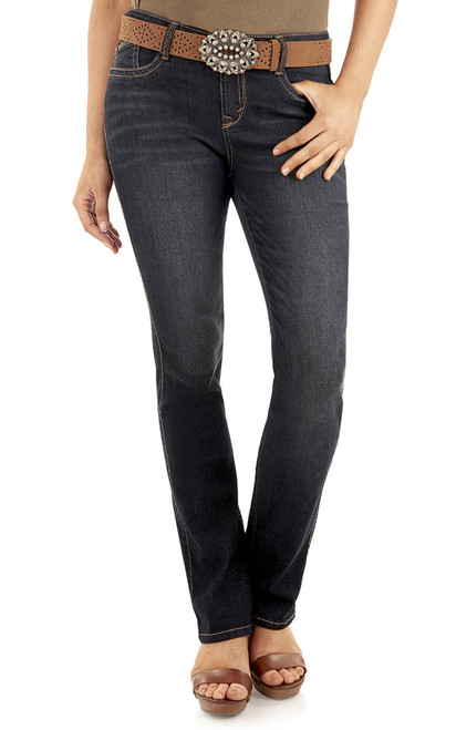 Legendary Belted Slim Bootcut Jeans In Shay