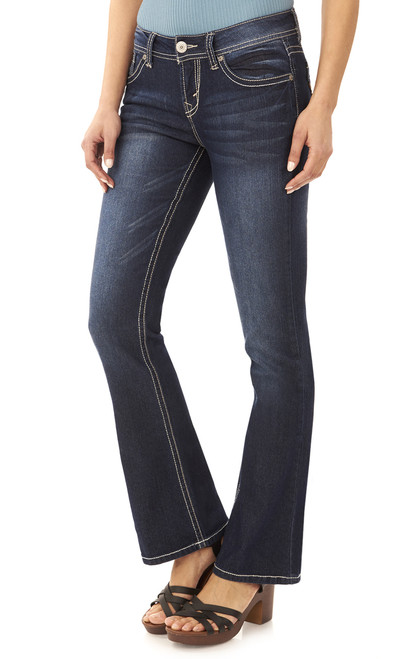 """Basic Legendary Bootcut Jeans (32-34"""") In Britney"""