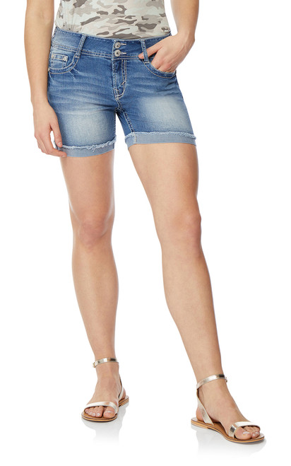 Luscious Curvy Midthigh Shorts In Laura