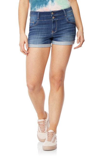 InstaSoft™ High Rise Sassy Shorts In Lizette