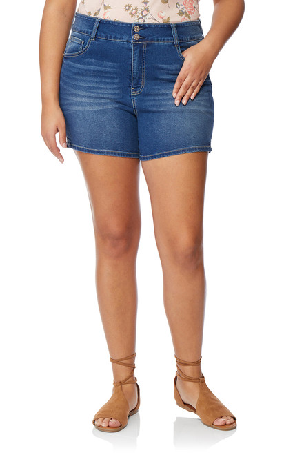 Plus Size InstaSoft™ Ultra Fit Shorts In Lizette