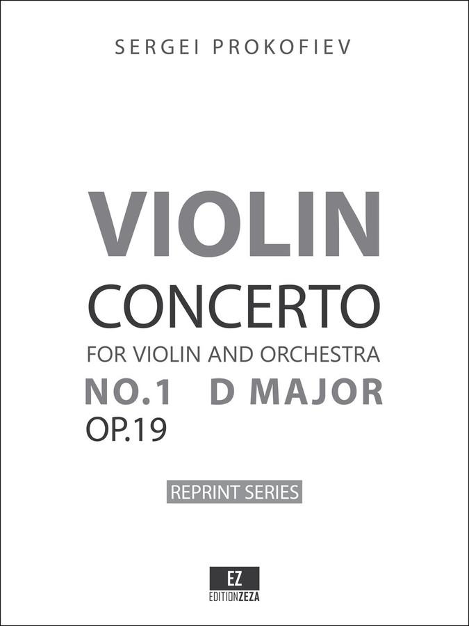 prokofiev violin concerto no 1 op 19 - sheet music x