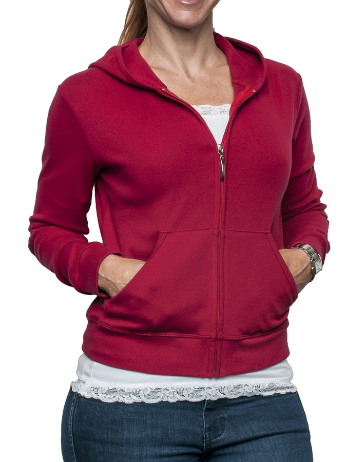 Zip Hoody with Pockets
