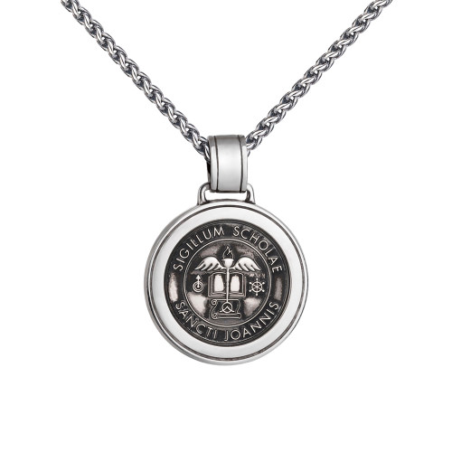Colby Davis Prep School Collection: Large Saint John's Pendant