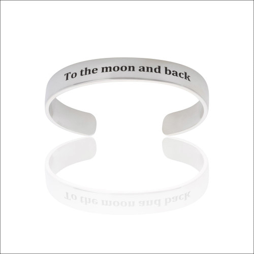 """To the Moon and Back"" Cuff"