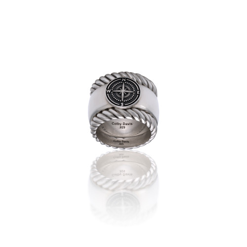 Sterling Silver Rowe's Wharf Stackable Ring