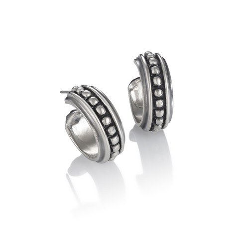 Back Bay Earrings - Sterling Silver