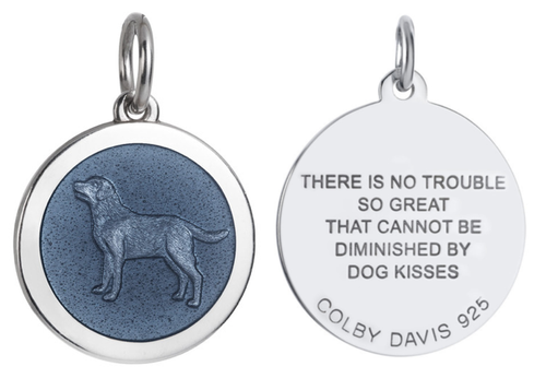 Colby Davis Pendant: Medium Dog (chain sold separately)