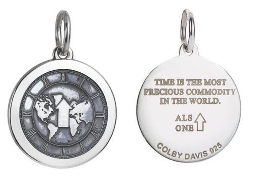 Colby Davis Pendant: Medium ALS (chain sold separately)