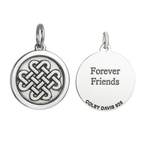 Colby Davis Pendant: Medium Friendship Knot (chain sold separately)