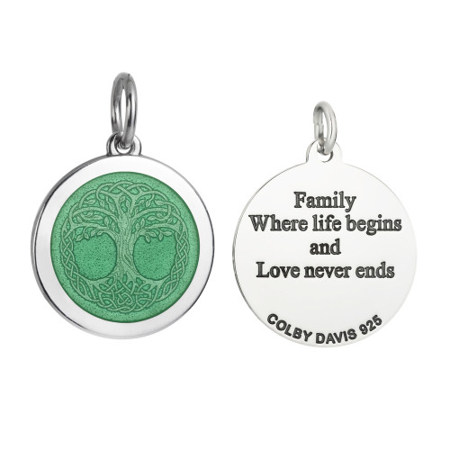 Colby Davis Pendant: Medium Tree of Life (chain sold separately)