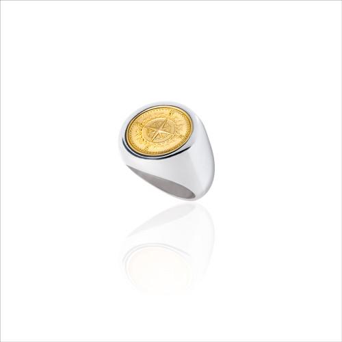 Colby Davis Signet Ring - 18k Gold