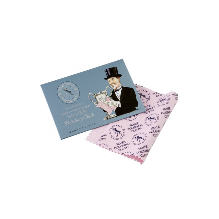 Town Talk Silver Polishing Cloth - Standard (12 x 17cm)