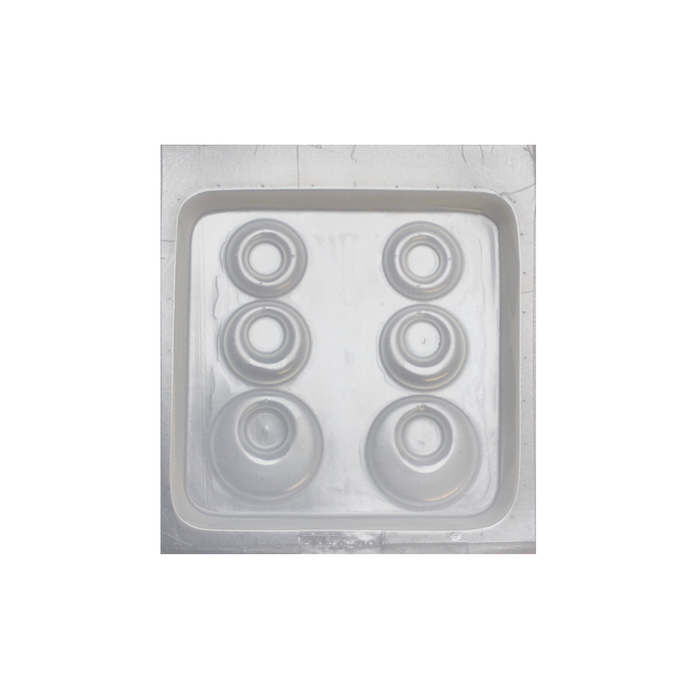 Resin mould - Earrings - Round - 3 in 1