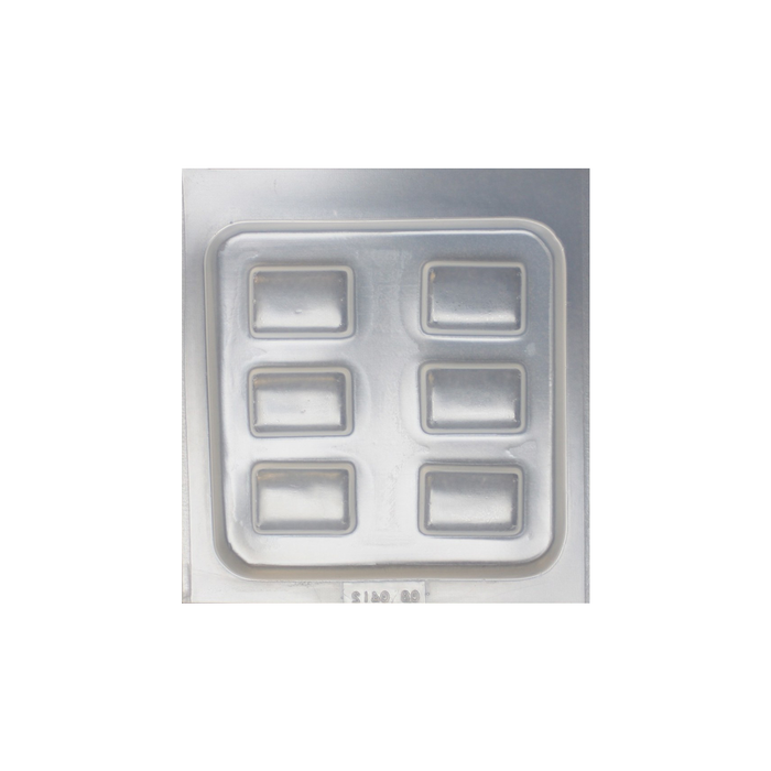 Resin mould - Rectangles - Large - 6 in 1