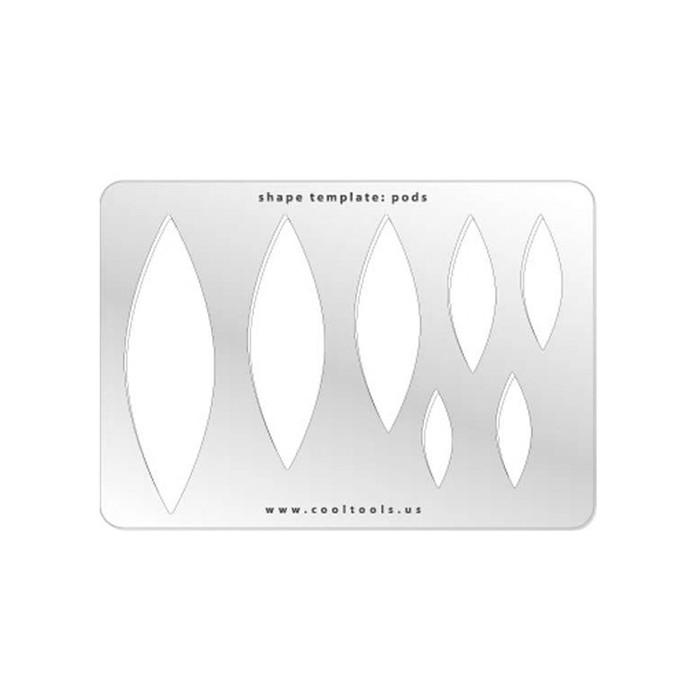 Jewellery shape template - Pods