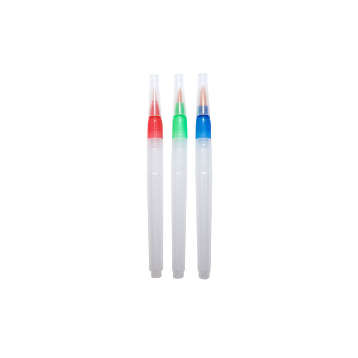 Water & Oil Brush - Set of 3