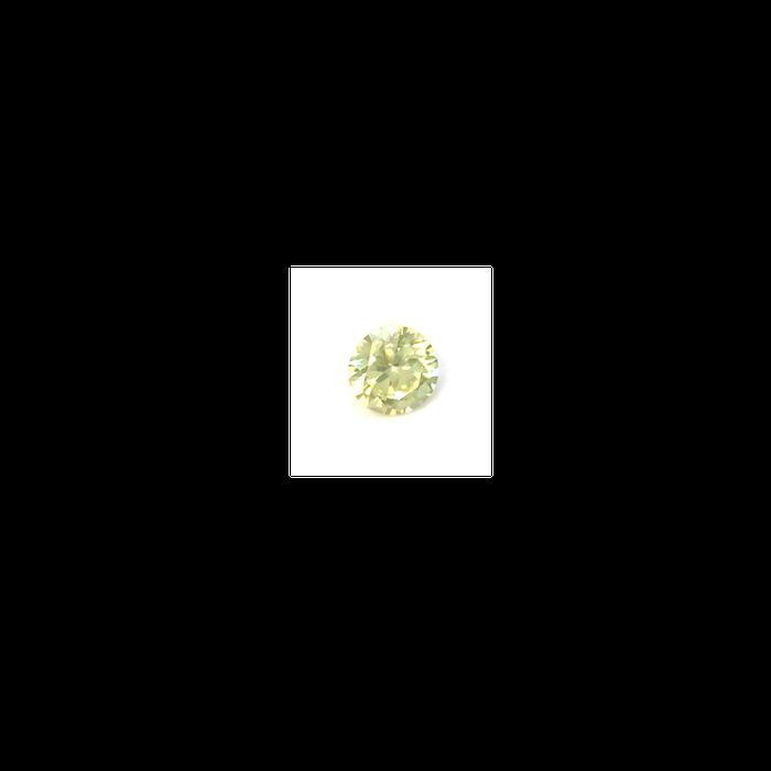 Lab Created Gemstone - Citrine Yellow Round