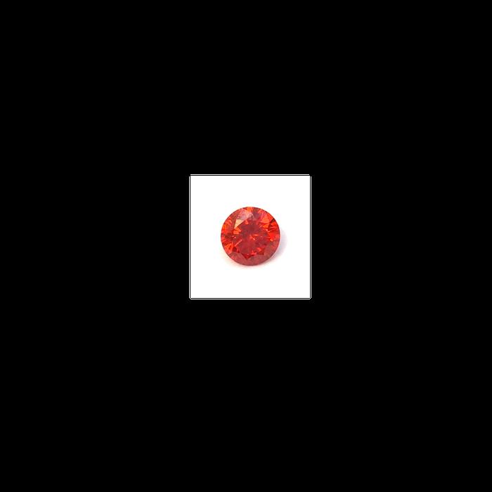 Lab Created Gemstone - Padparadscha Round