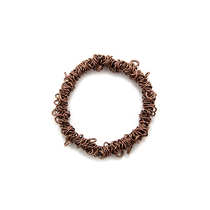 Bungee Stretch Bracelet - Antique Copper