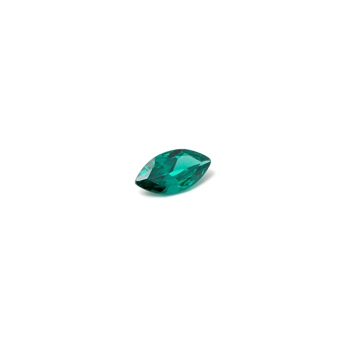 Lab Created Gemstone - Emerald Marquise 8x4mm (Non-fireable)