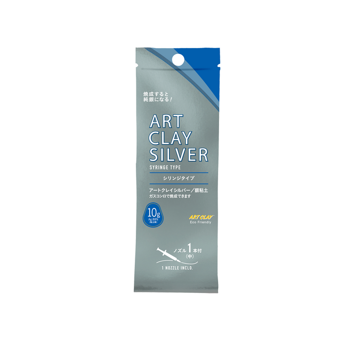 Art Clay Silver Syringe - 1 tip - 10gm