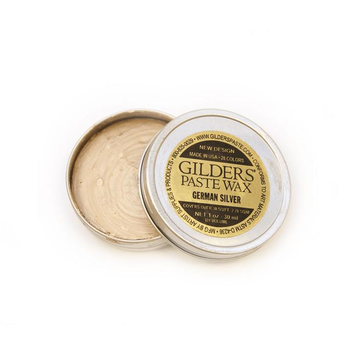 Baroque Art Gilders Paste Wax - German Silver