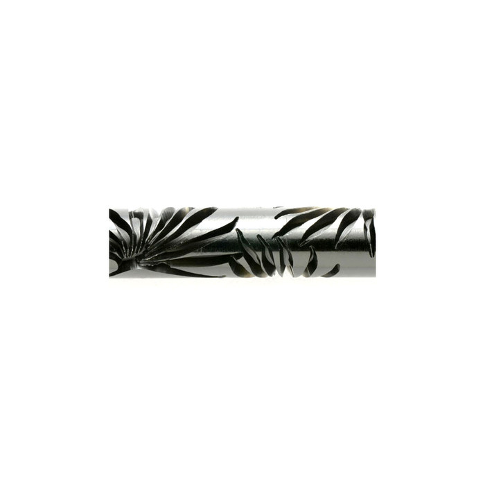 Acrylic Texture Roller - Palm Fronds 5cm