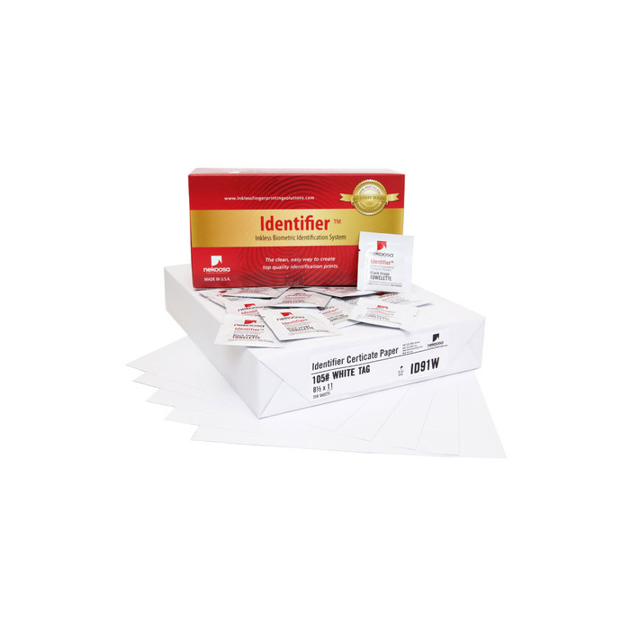Inkless Print Set - Bulk-Buy 250 wipes + 250 A4 papers