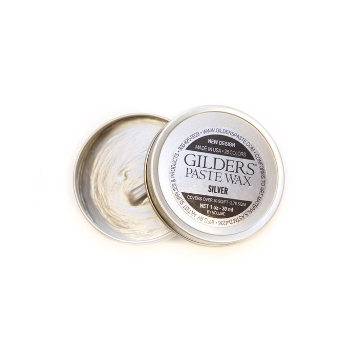 Baroque Art Gilders Paste Wax - Silver