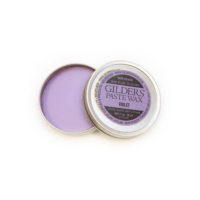 Baroque Art Gilders Paste Wax - Violet