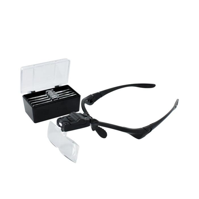 LED 5 Lens Magnifier Set